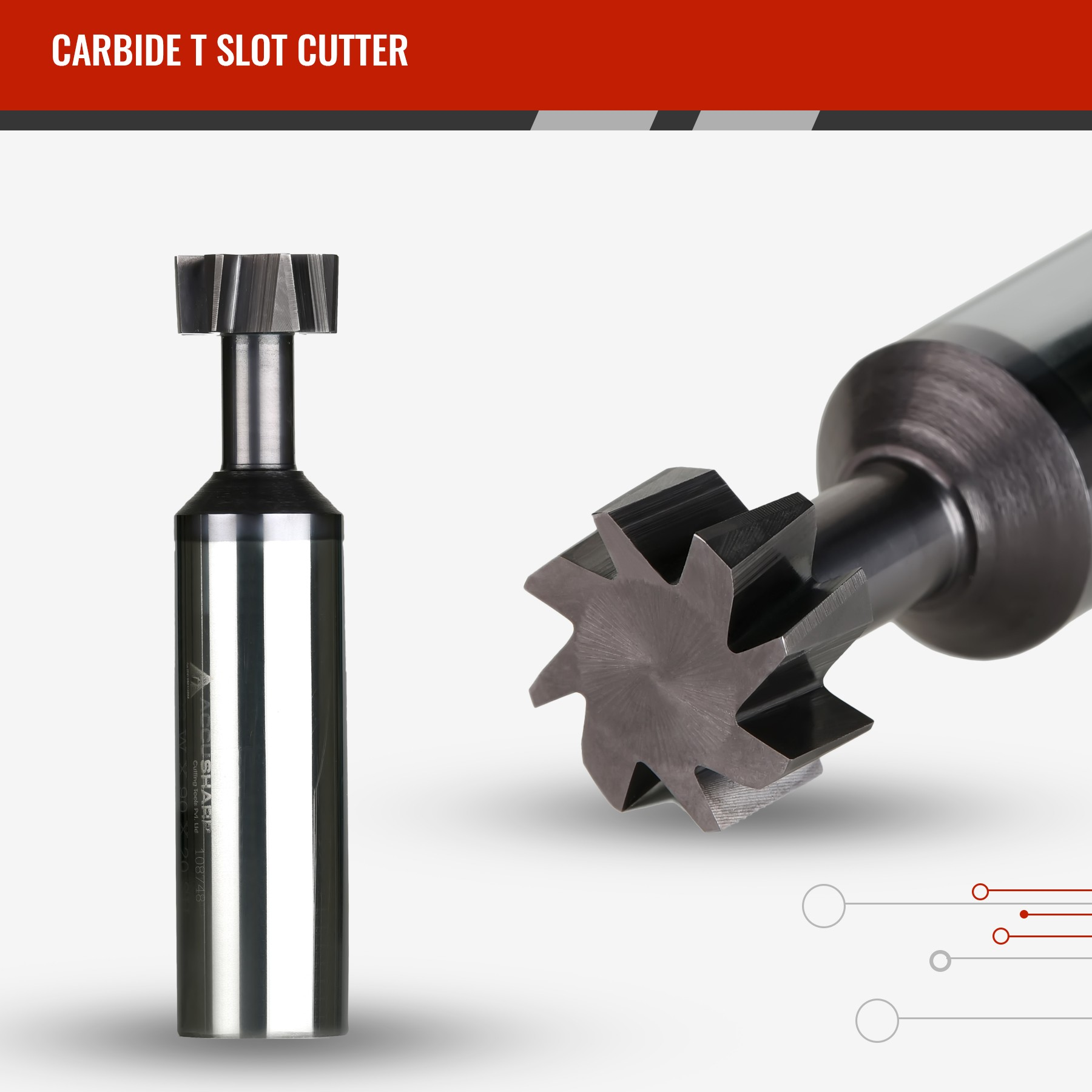 Carbide T Slot Cutter