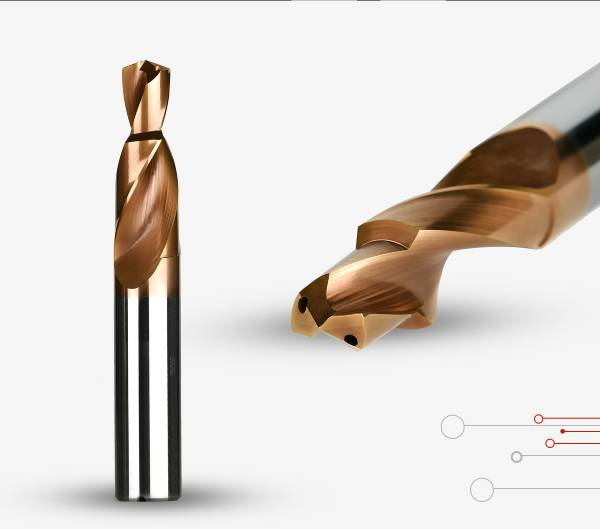 Drill | Solid carbide Step Drill | Accusharp Cutting Tools
