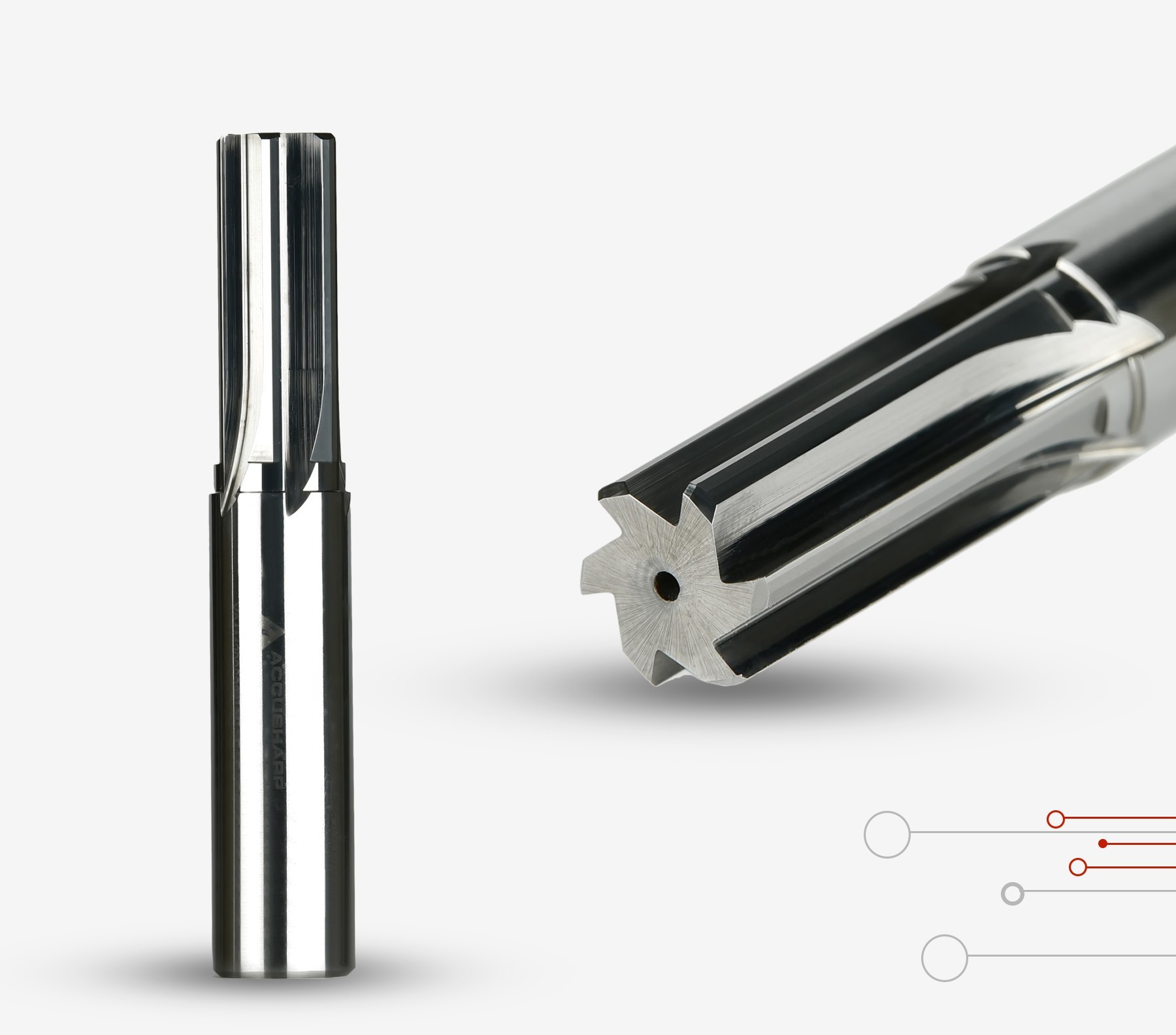 Reamer   Solid Carbide Reamer  Accusharp Reamer tools to fulfil your Industrial needs.